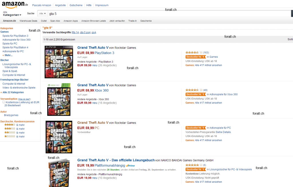 gta5 pc 1024x655 GTA 5 PC Version as Preorder on Amazon.de